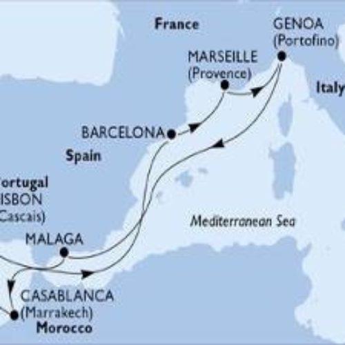 Jesensko krstarenje do Maroka i Lisabona