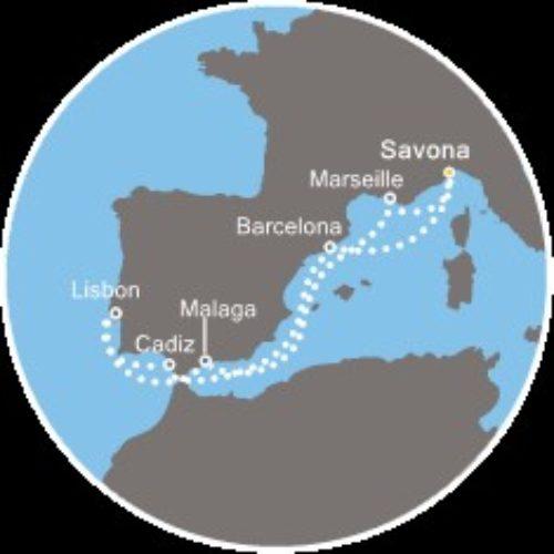 Jesensko krstarenje do Lisabona
