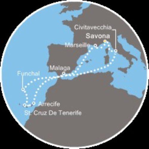 Jesensko krstarenje do Kanarskih otoka i Madeire