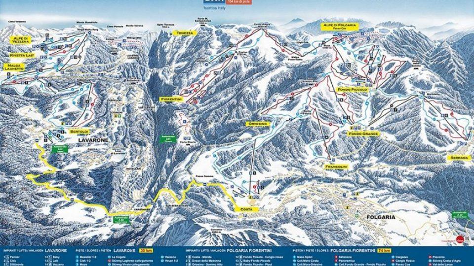Skijanje-Italija-Folgaria