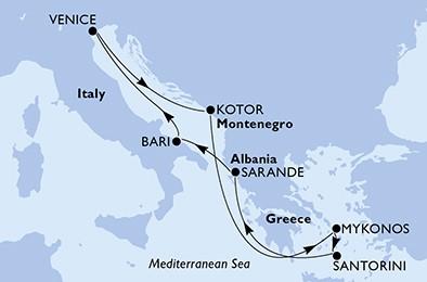 itinerar grčki otoci