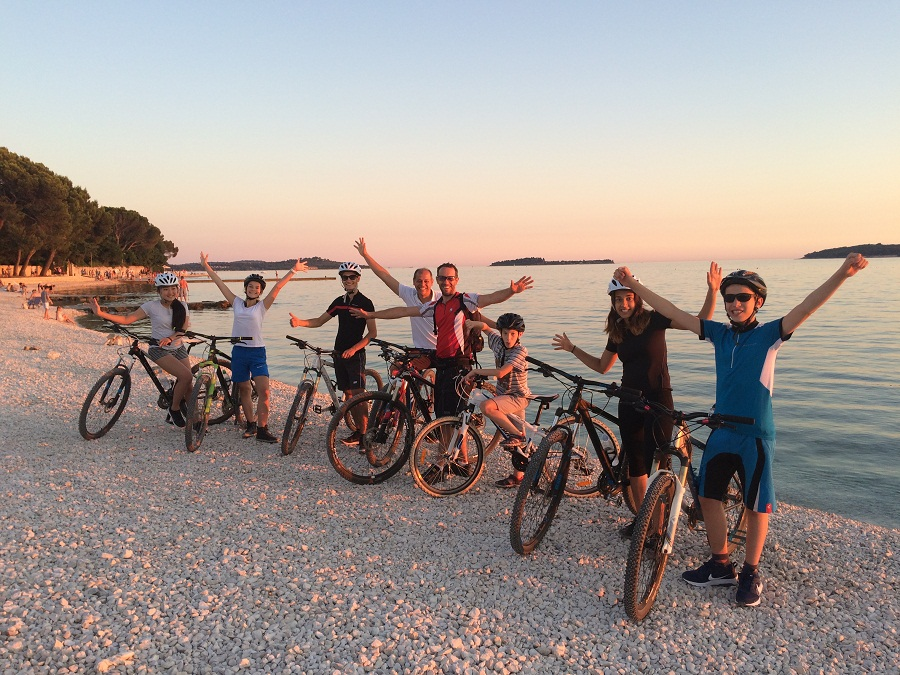 bike tour fazana