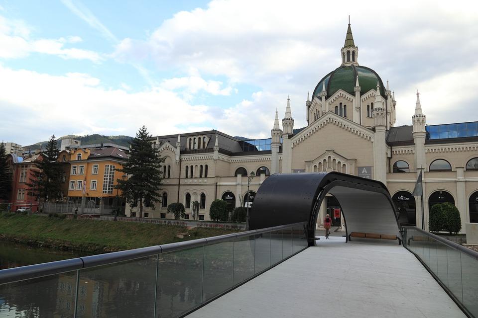 Loop Bridge Hezegovina Building Bosnia Sarajevo